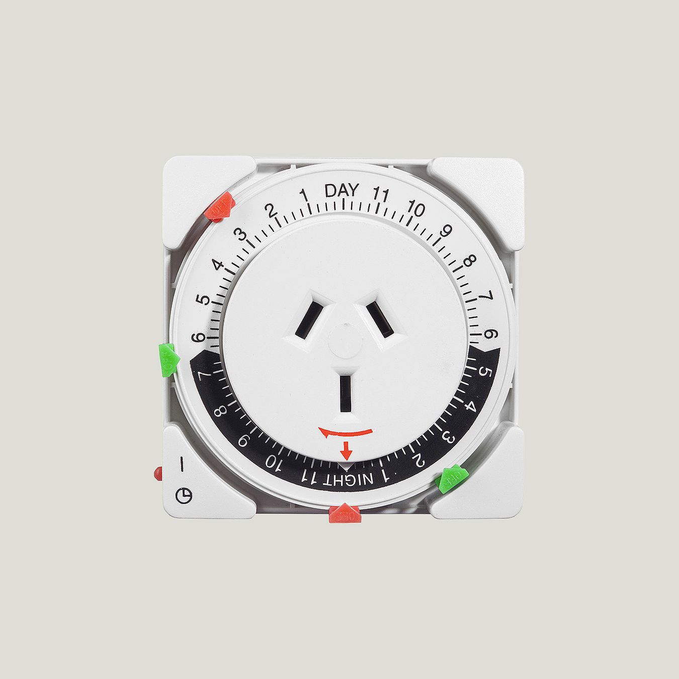 Analogue Timer 24h Easy Set Override Switch Nz Site