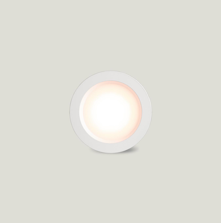 Dli 90mm White Fascia Warm Light Au Site Wiring Diagram Led Downlight View