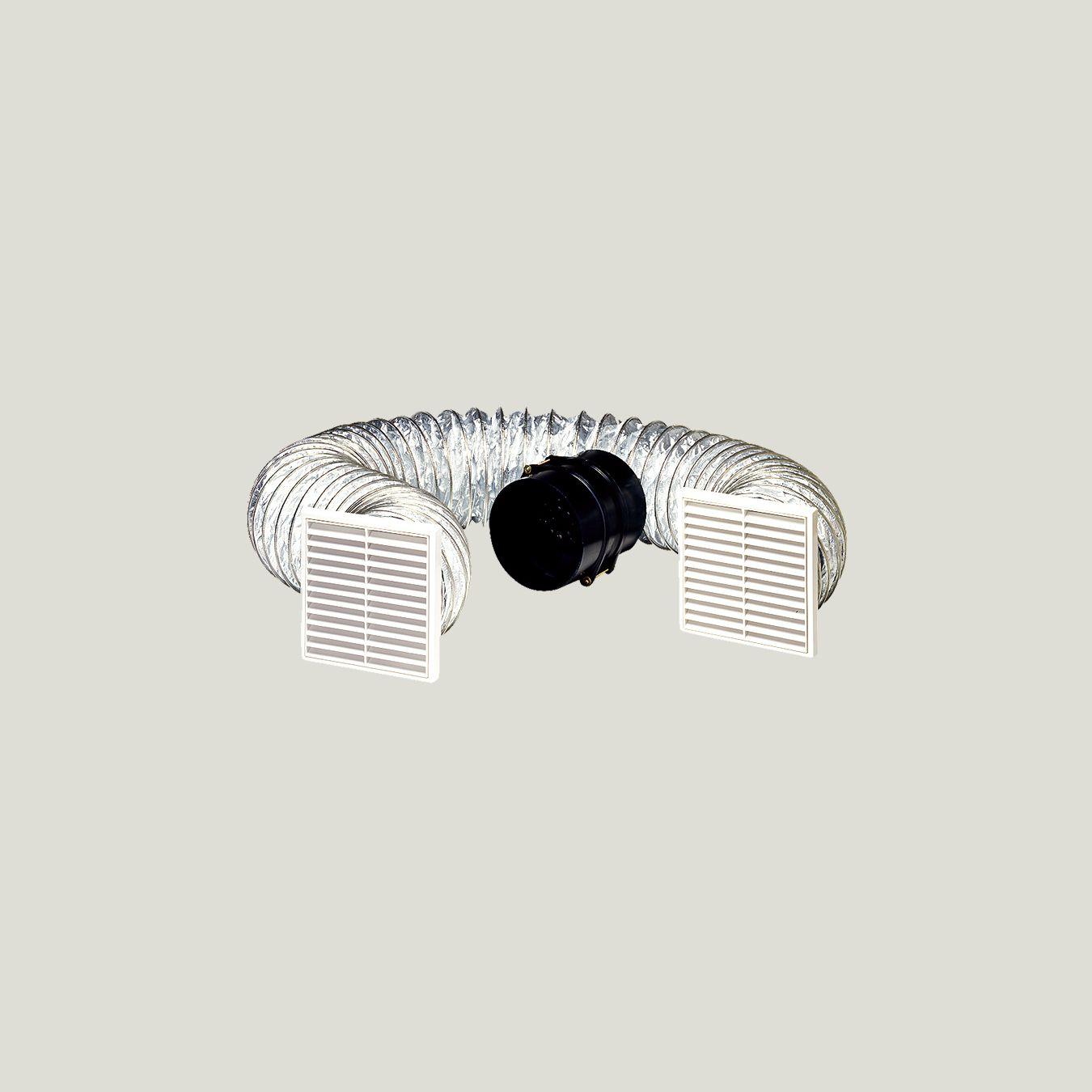 150mm inline fan kit