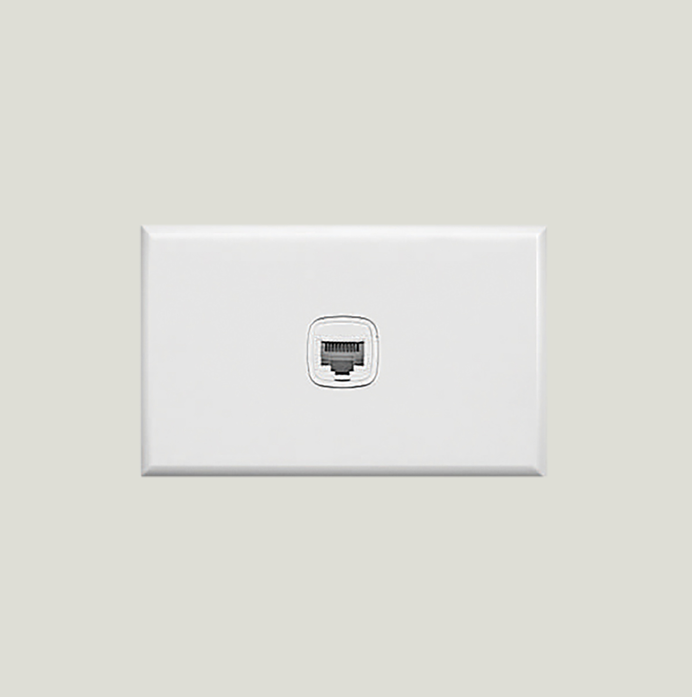 Phone Outlet Rj12 1 Gang Cat3 Au Site Wiring Wall Plate
