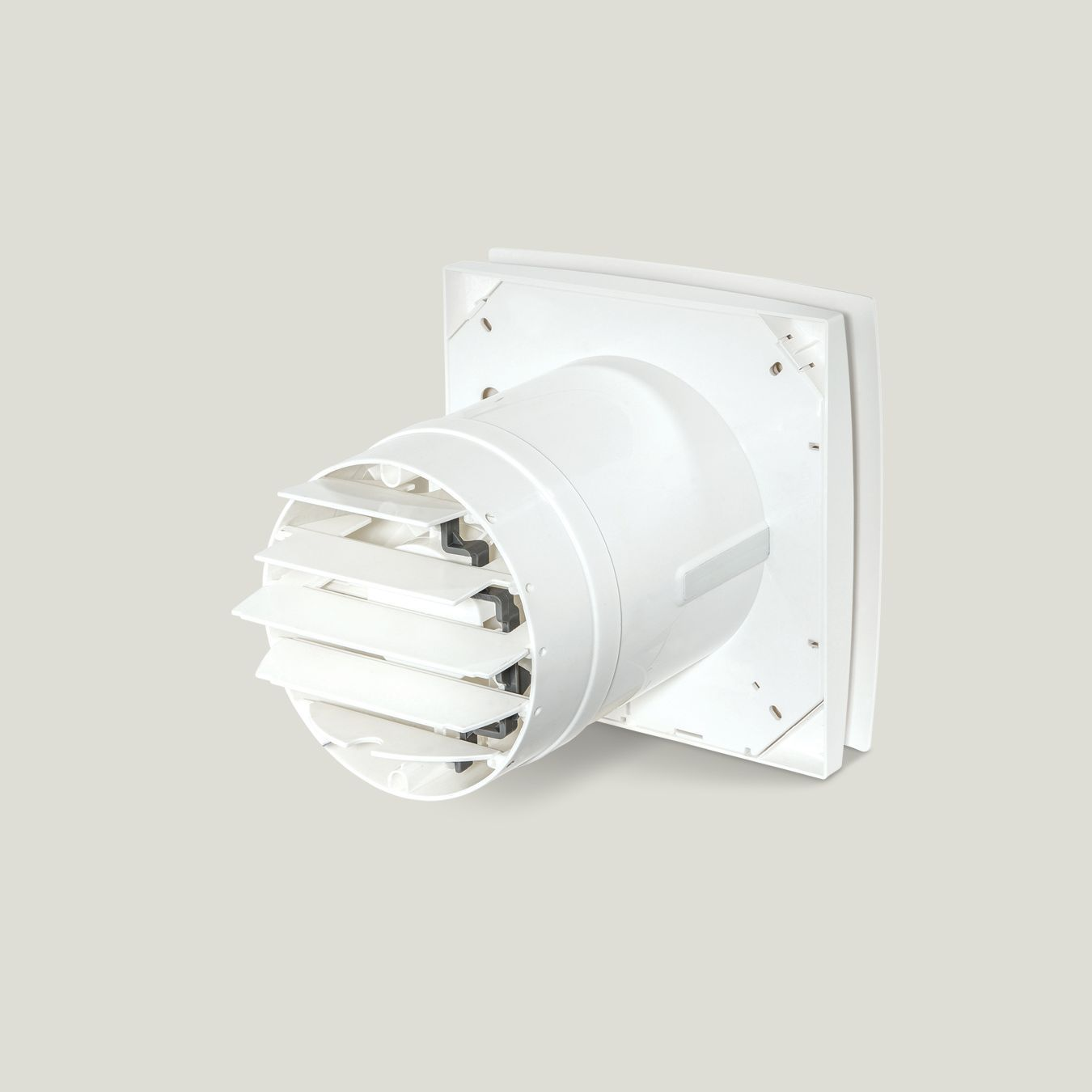 150mm Square White Finish Exhaust Fans With Shutters Nz Site